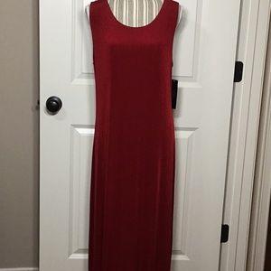 NWT!! Ashli Couture Maxi Dress, Red, XL